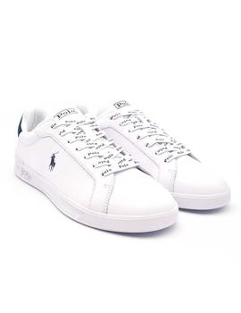 RALPH LAURENHRT CT II-SNEAKERS-ATHLETIC SHOE BLANC